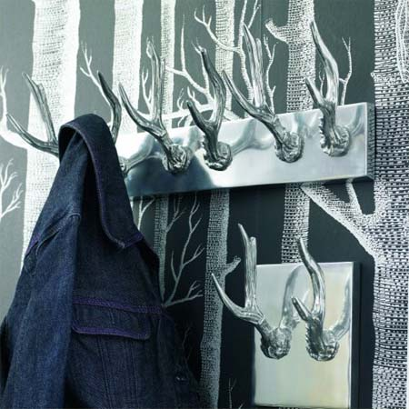 Deer Antler Coat Hooks Funky Interiors